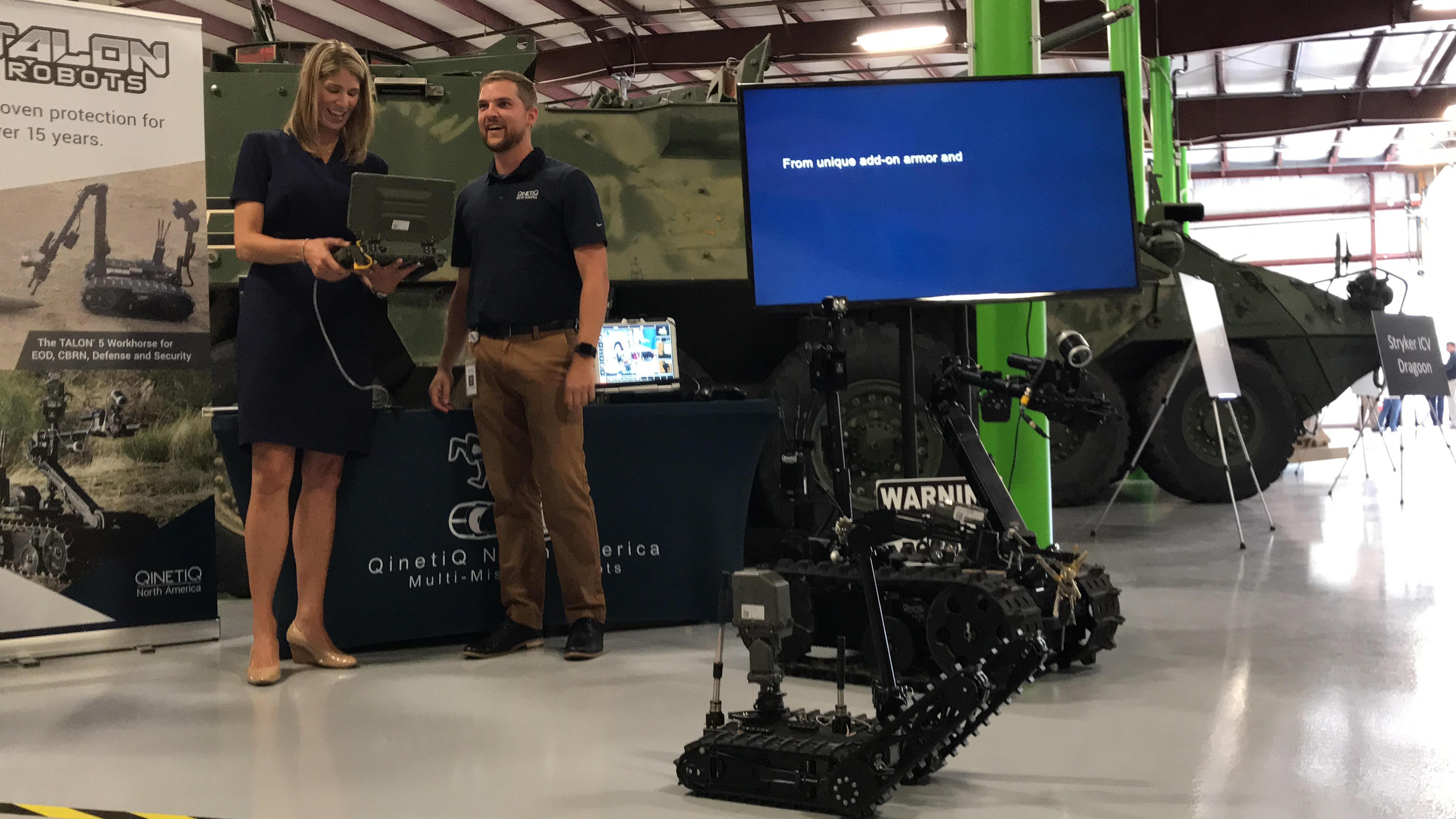 Devens welcomes military robot technicians – Nashoba Valley